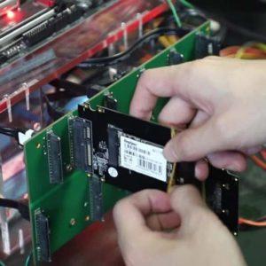 замена компонентов на серверах в Москве