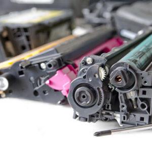 laser toner cartridge and tools